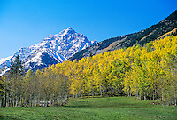 Maroon Bells, near Aspen, Colorado USA