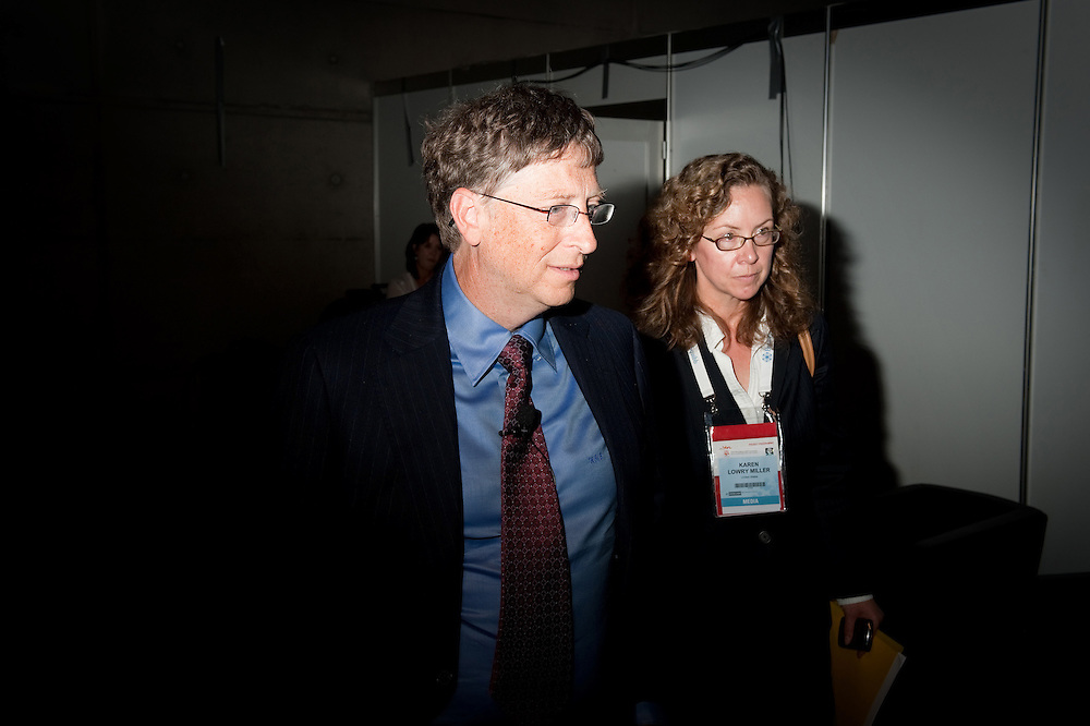 Austria, Vienna. XVIII International AIDS Conference (AIDS 2010).Road Map of HIV Prevention .Photo shows:  Bill Gates, Co-Chair, Bill & Melinda Gates Foundation, United States..©IAS/SteveForrest/Workers' Photos