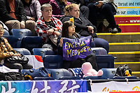 KELOWNA, BC - OCTOBER 25:  Fans show their support for Russian figure skater Evgenia Medvwedeva at Prospera Place on October 25, 2019 in Kelowna, Canada. (Photo by Marissa Baecker/Shoot the Breeze)