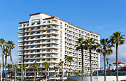 The Hilton Waterfront Beach Resort on Pacific Coast Highway