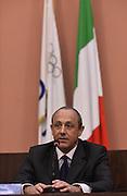 ROMA 20 GENNAIO 2016<br /> PRESENTAZIONE NUOVO CT DELLA NAZIONALE ITALIANA DI BASKET ETTORE MESSINA<br /> Foto Ciamillo