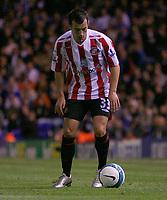 Photo: Steve Bond.<br />Birmingham City v Sunderland. The FA Barclays Premiership. 15/08/2007. Ross Wallace with the ball