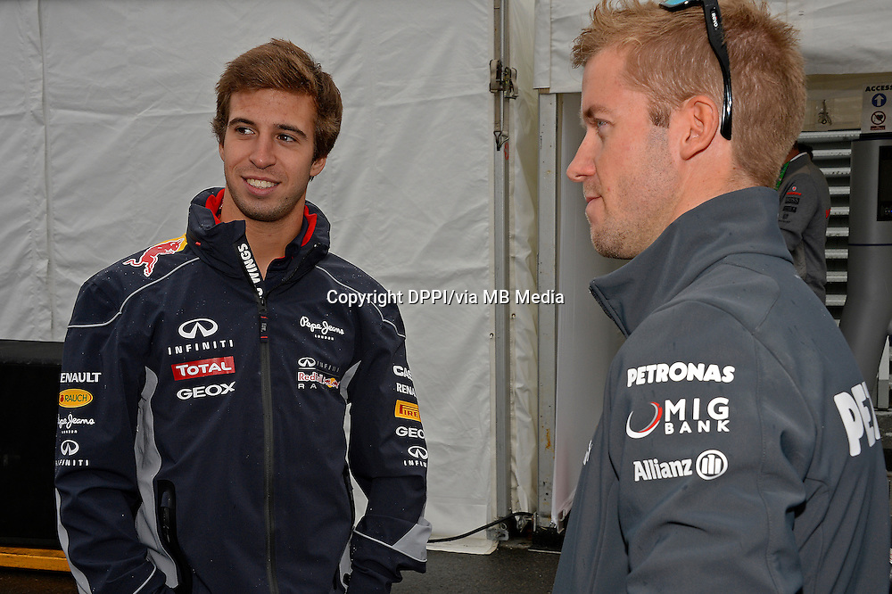 MOTORSPORT - F1 2013 - GRAND PRIX OF CANADA - MONTREAL (CAN) - 07 TO 09/06/2013 - PHOTO ERIC VARGIOLU / DPPI DA COSTA FELIX (SP) - TEST DRIVER - RED BULL RENAULT RB9 - AMBIANCE PORTRAIT