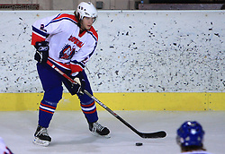 Rok Ticar at friendly ice-hockey game between Slovenian National Team U20 and HKMK Bled, before World Championship Division 1, Group A in Herisau, Switzerland, on December 11, 2008, in Bled, Slovenia. (Photo by Vid Ponikvar / Sportida)