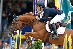 Pessoa Rodrigo (BRA) - GC Atlanta Z <br /> FEI World Championship Young horses - Lanaken 2013<br /> © Dirk Caremans