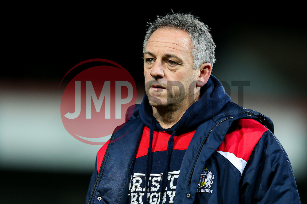 Bristol Rugby Acting Head Coach Mark Tainton looks dejected after Gloucester Rugby win 26-18 - Rogan Thomson/JMP - 03/12/2016 - RUGBY UNION - Kingsholm Stadium - Gloucester, England - Gloucester Rugby v Bristol Rugby - Aviva Premiership.