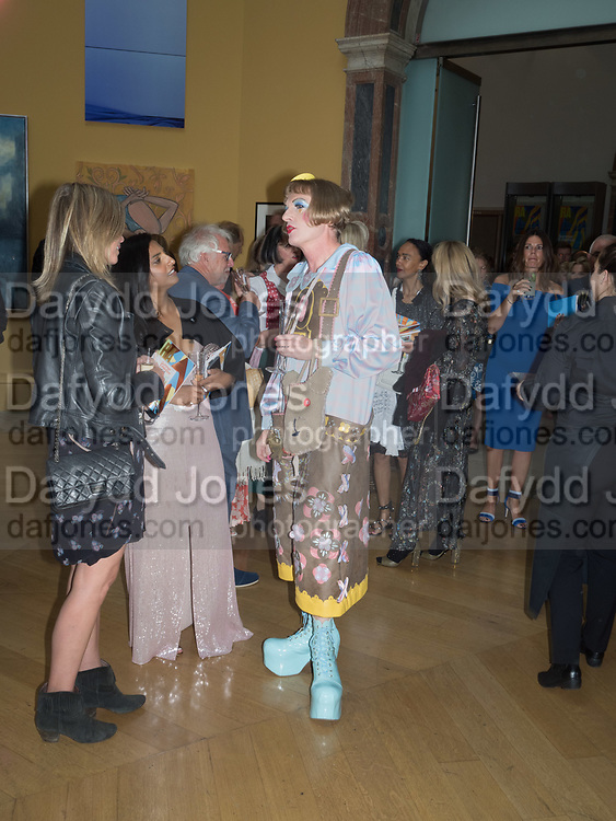 GRAYSON PERRY, Royal Academy of Arts Summer Party. Burlington House, Piccadilly. London. 7June 2017
