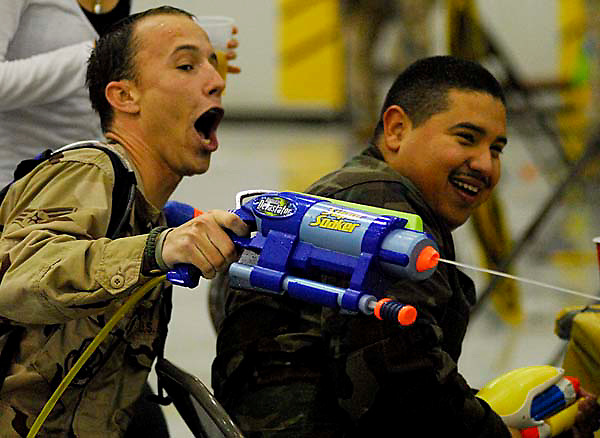 BEALE AIR FORCE BASE, CA - An Air Force tradition that dates back to the 1930s was held at Beale AFB in April 2007.<br /> <br /> The Combat Dining-In is a team-strengthening event for active-duty and civilian personnel.