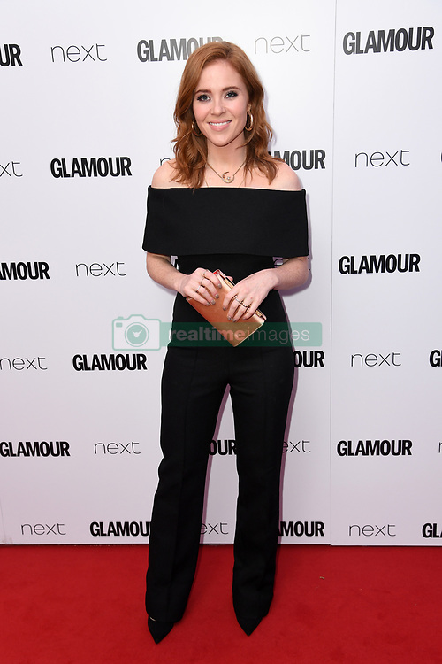Angela Scanlon attending the Glamour Women of the Year Awards 2017 in association with NEXT, Berkeley Square Gardens, London