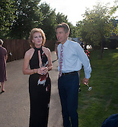 JULIA PEYTON-JONES; BEN BRADSHAW, The Summer Party. Serpentine Gallery. 8 July 2010. -DO NOT ARCHIVE-© Copyright Photograph by Dafydd Jones. 248 Clapham Rd. London SW9 0PZ. Tel 0207 820 0771. www.dafjones.com.