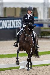 Langehanenberg Helen, GER, Straight Horse Ascenzione<br /> World Championship Young Dressage Horses - Ermelo 2019<br /> © Hippo Foto - Dirk Caremans<br /> Langehanenberg Helen, GER, Straight Horse Ascenzione