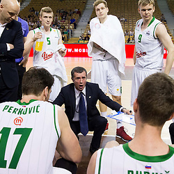 20130430: SLO, Basketball - Telemach league, KK Union Olimpija vs KK Krka