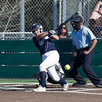 (Photograph by Bill Gerth/ for SVCN/ 3/14/17) Branham #vs Monta Vista in a pre season girls varsity softball game at Monta Vista High School, Cupertino CA on 3/14/17. (Monta Vista 7 Branham 3)