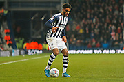 Darnell Furlong in action during the EFL Sky Bet Championship match between West Bromwich Albion and Stoke City at The Hawthorns, West Bromwich, England on 20 January 2020.