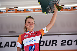 Stage winner, Amalie Dideriksen (DEN) at Boels Ladies Tour 2018 - Stage 4, a 124.3km road race from Stramproy to Weert, Netherlands on August 31, 2018. Photo by Sean Robinson/velofocus.com