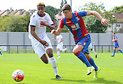 Jake Gray during the U21 Professional Development League match between U21 Crystal Palace and U21 Bolton Wanderers at Selhurst Park, London, England on 17 August 2015. Photo by Michael Hulf.