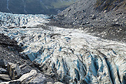 Look closely to see the hikers on the Fox Glacier, New Zealand (2013).