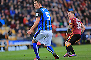 GOAL Billy Clarke watches as his shot opens the scoring 1-0 during the EFL Sky Bet League 1 match between Bradford City and Rochdale at the Coral Windows Stadium, Bradford, England on 12 November 2016. Photo by Daniel Youngs.