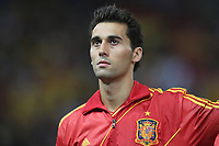 FOOTBALL - FIFA WORLD CUP 2014 - QUALIFYING - SPAIN v FRANCE - 16/10/2012 - PHOTO MANUEL BLONDEAU / AOP PRESS / DPPI - ALVARO ARBELOA