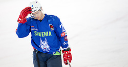 13.02.2016, Olympiaworld, Innsbruck, AUT, Euro Ice Hockey Challenge, Slowakei vs Slowenien, im Bild Martin Stajnoch (SVK) // Martin Stajnoch of Slovakia during the Euro Icehockey Challenge Match between Slovakia and Slovenia at the Olympiaworld in Innsbruck, Austria on 2016/02/13. EXPA Pictures © 2016, PhotoCredit: EXPA/ Jakob Gruber