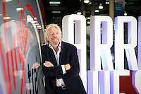17 September 2014: This morning, Sir Richard Branson celebrated the launch of new Virgin Trains advertising campaign, &ldquo;Arrive Awesome&rdquo;, at Euston Station. The Virgin Group founder posed alongside giant letters spelling out the campaign phrase, after delivering a speech in which he pledged to put the customer at the heart of a &pound;50 million investment in the passenger experience.<br />  Speaking at the event, Sir Richard Branson said &ldquo;At the heart of every bid, every innovation and even every piping hot cup of tea that is served on board is the customer experience. Today we are celebrating our continued commitment to that customer experience by revealing our greatest investment yet in our passengers experiences and our never-ending pledge to put them at the heart of everything we do.&rdquo;<br /> Picture date: 17 September 2014<br /> Photo credit should read: Virgin Trains / Hope&amp;Glory<br /> For more info call<br />  <br /> DESCRIPTION WRITER:<br /> Nicola Burton on 07892692825 CPG_Campaign