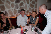 TRACEY EMIN; STEPHEN FREARS; MIUCCIA PRADA, Prada Congo Benefit party. Double Club. Torrens Place. Angel. London. 2 July 2009.