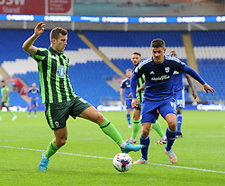 Jonathan Meades of AFC Wimbledon - Mandatory by-line: Paul Knight/JMP - Mobile: 07966 386802 - 11/08/2015 -  FOOTBALL - Cardiff City Stadium - Cardiff, Wales -  Cardiff City v AFC Wimbledon - Capital One Cup