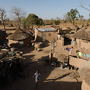 A view of the homestead where Rihanata Ouedraogo lives with her family in Koala, Burkina Faso on 2 March 2014.