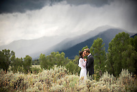 Jackson Hole wedding — Jen Simon and Adam Meyer, Chapel of the Transfiguration, Grand Teton National Park, Wyoming.