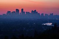 Calgary Skyline, Sunrise