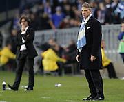 UEFA Europa League.Lech Poznan v Manchester City.4th November 2010.A dejected Roberto Mancini ..Photo by: Piotr Hawalej / WROFOTO