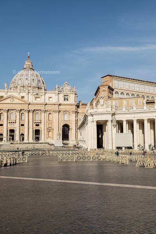 Rome,. Piazza San Pietro