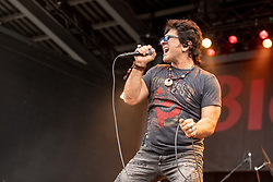 July 1, 2018 - Milwaukee, Wisconsin, U.S - TERRY ILOUS of Great White performs live at Henry Maier Festival Park during Summerfest in Milwaukee, Wisconsin (Credit Image: © Daniel DeSlover via ZUMA Wire)