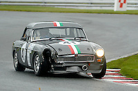 #41 Babak Farsian MGB Roadster during the MGCC Thoroughbred Sportscar Championship at Oulton Park, Little Budworth, Cheshire, United Kingdom. September 03 2016. World Copyright Peter Taylor/PSP.