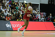 England Women WD Serena Guthrie during the Netball World Cup 2019 Preparation match between England Women and Uganda at Copper Box Arena, Queen Elizabeth Olympic Park, United Kingdom on 30 November 2018.