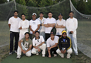 The Greater Dayton Cricket Club after a practice at Stubbs Park in Centerville, Thursday, June, 21st.