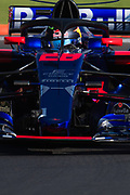 October 27-29, 2017: Mexican Grand Prix. Brendon Hartley (NZ), Scuderia Toro Rosso, STR12 with the halo device