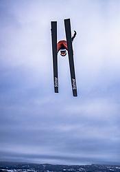 16.03.2019, Vikersundbakken, Vikersund, NOR, FIS Weltcup Skisprung, Raw Air, Vikersund, Teambewerb, im Bild Yukiya Sato (JPN) // Yukiya Sato of Japan during the team competition of the 4th Stage of the Raw Air Series of FIS Ski Jumping World Cup at the Vikersundbakken in Vikersund, Norway on 2019/03/16. EXPA Pictures © 2019, PhotoCredit: EXPA/ JFK
