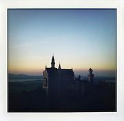 "Schloss Neuschwanstein, Germany..from the series ""Fake Polaroids""...."
