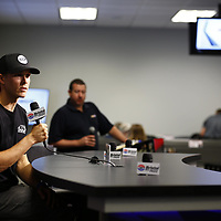 April 13, 2018 - Bristol, Tennessee, USA: The Monster Energy NASCAR Cup Series teams take to the track for the Food City 500 at Bristol Motor Speedway in Bristol, Tennessee.