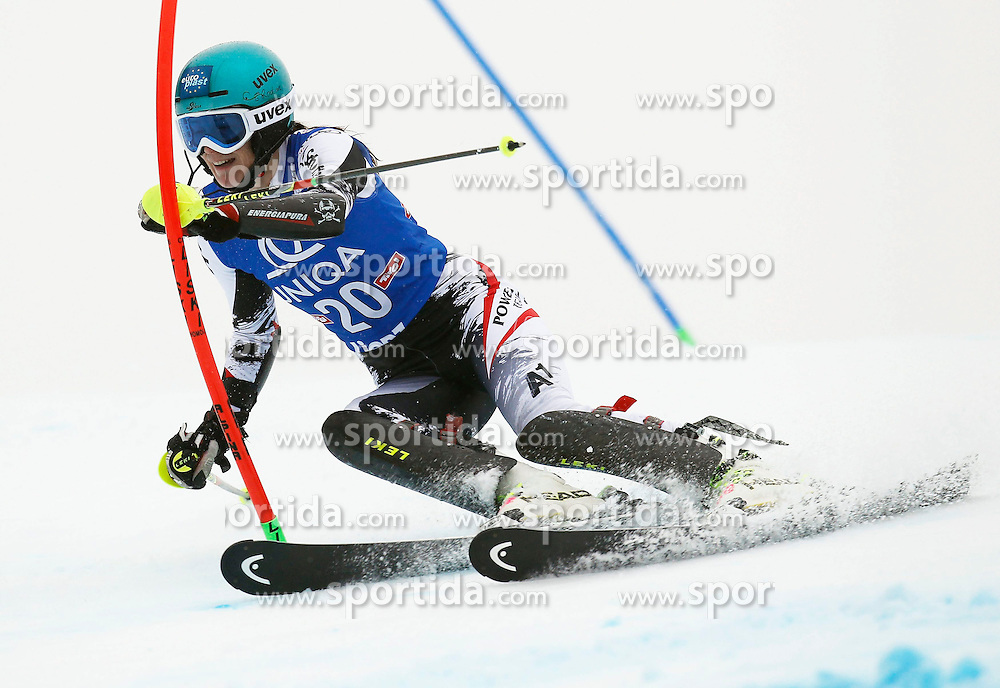 29.12.2013, Hochstein, Lienz, AUT, FIS Weltcup Ski Alpin, Damen, Slalom 1. Durchgang, im Bild Carmen Thalmann (AUT) // Carmen Thalmann of (AUT) during ladies Slalom 1st run of FIS Ski Alpine Worldcup at Hochstein in Lienz, Austria on 2013/12/29. EXPA Pictures © 2013, PhotoCredit: EXPA/ Oskar Höher