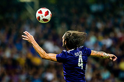 Marko Suler of NK Maribor during 2nd Leg football match between NK Maribor and FC Chikhura in 2nd Qualifying Round of UEFA Europa League 2018/19, on August 2, 2018 in Ljudski vrt, Maribor, Slovenia. Photo by Ziga Zupan / Sportida