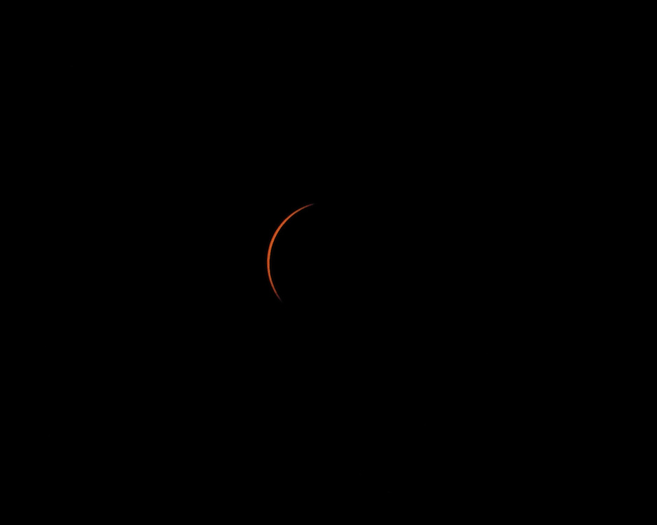 Sequence of Total Solar Eclipse in the remote Altai region of western Mongolia, 1 August 2008
