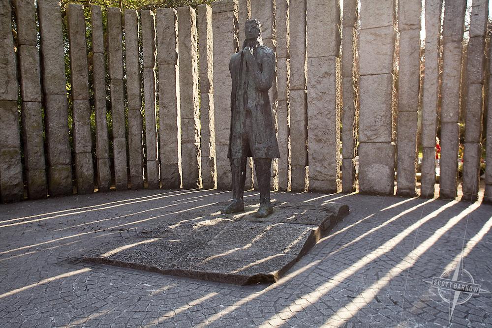 Wolfe Cone memorial in Dublin Ireland.