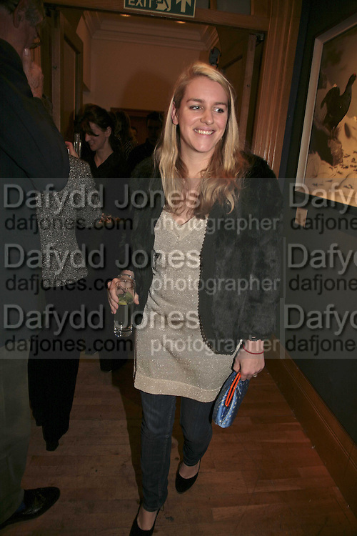 Laura Parker Bowles Reception and auction of Wildlife and Sporting Art in aid of the game Conservancy Trust. Christie's. King St. London W1. 12 December 2006. ONE TIME USE ONLY - DO NOT ARCHIVE  © Copyright Photograph by Dafydd Jones 248 CLAPHAM PARK RD. LONDON SW90PZ.  Tel 020 7733 0108 www.dafjones.com