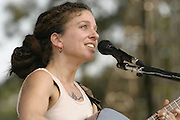 Jun 11, 2004; Manchester, TN, USA; Ani DiFranco performing at Bonnaroo 2004. Mandatory Credit: (©) Copyright 2004 by Bryan Rinnert