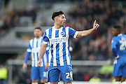 Brighton striker, Richie Towell (29) during the The FA Cup match between Hull City and Brighton and Hove Albion at the KC Stadium, Kingston upon Hull, England on 9 January 2016.