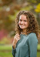 Nicole T senior portrait session.  ©2019 Karen Bobotas Photographer