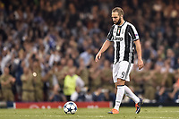 Gonzalo Higuain of Juventus looks dejected during the UEFA Champions League Final match between Real Madrid and Juventus at the National Stadium of Wales, Cardiff, Wales on 3 June 2017. Photo by Giuseppe Maffia.<br /> <br /> Giuseppe Maffia/UK Sports Pics Ltd/Alterphotos