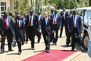 Juba - UN Secretary General Visits South Sudan - 25 Feb 2016
